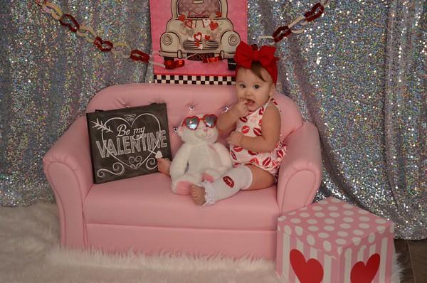 "Penelope""s First Valentines Pics."