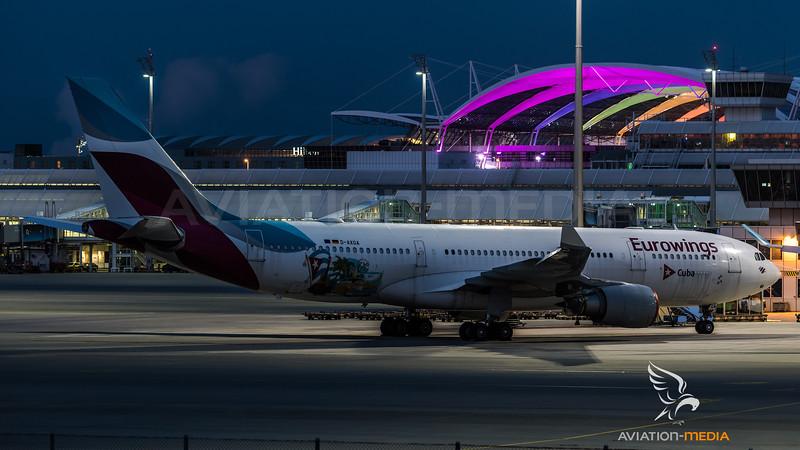Eurowings / Airbus A330-203 / D-AXGA / Cuba Livery