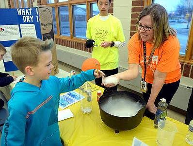 Science night at Avon Heritage Elementary