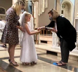 2021-04-25 First Eucharist