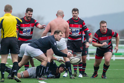Cheltenham Rugby V Matson Rugby - 24th November 2018