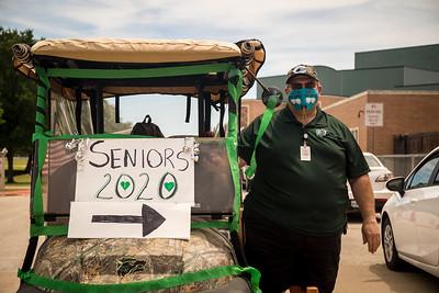 2020.05.24 Seniors Cap and Gown Pickup