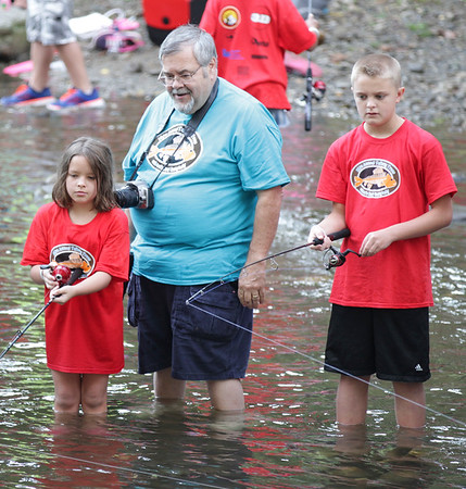 16th Annual Talking Trees Children's Trout Derby 8-5-17