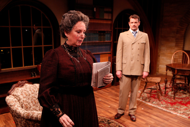 Laurie Kennedy and Rob Breckenridge in WHAT THE PUBLIC WANTS by Arnold Bennett  Photo: Richard Termine