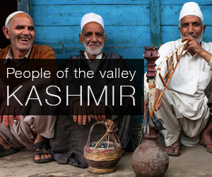 People of the Kashmir valley