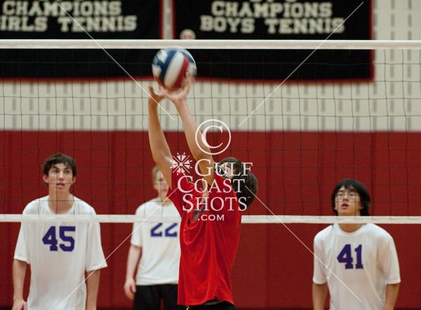 2009-09-22 Volleyball JV Boys Kinkaid @ SJS