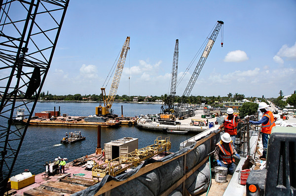 Ocean Avenue Bridge Construction