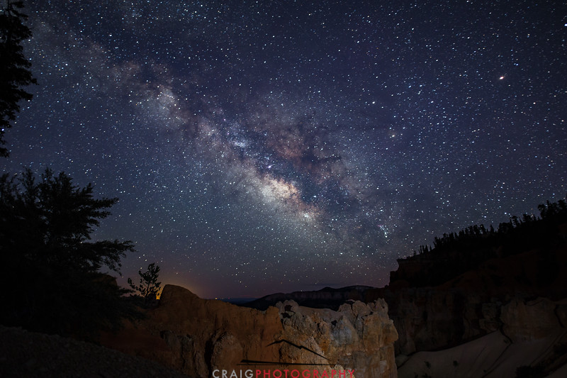 Milky Way over Bryce Canyon Utah 5