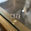 1.47ctw Carre Cut Diamond Pair GIA F VS2 1