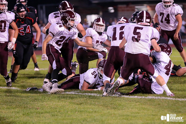 CMBB Football vs. LeRoy  9-15-17