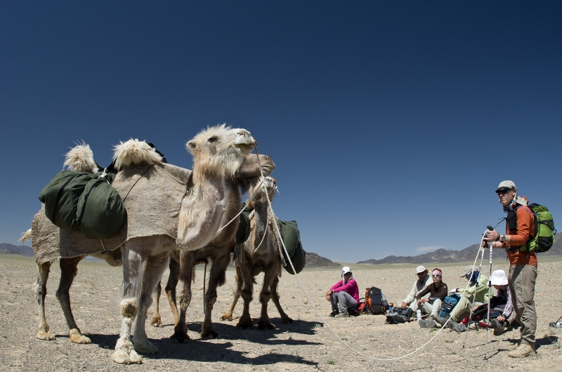 1000 Mile Journey across the Gobi Desert Mongolia on foot 2011