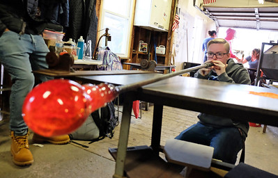 Glass Blowing 10-25-18