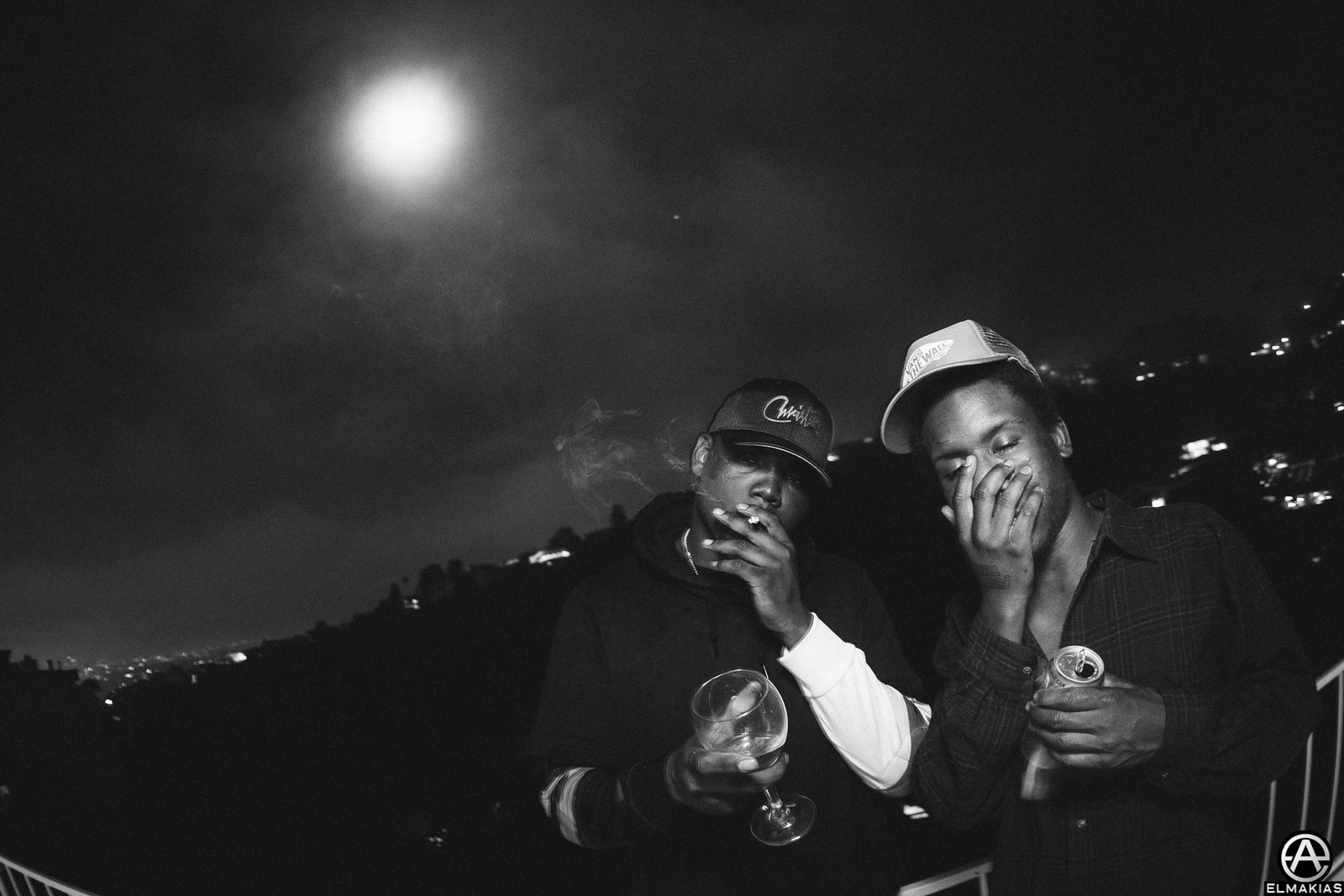 3:00am at a house in some hills with the moon - Swizzy Mac and Skizzy Mars
