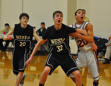 CV vs. West Albany Freshman Boys Basketball