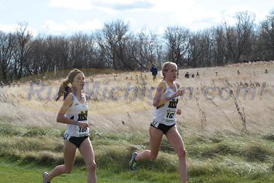 Womens 6K @ 3400m - 2015 NCAA D1 XC Great Lakes Regional