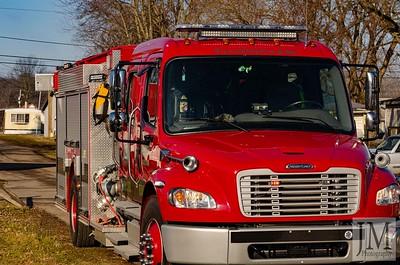 02-19-20 Three Rivers FD - Garage Fire