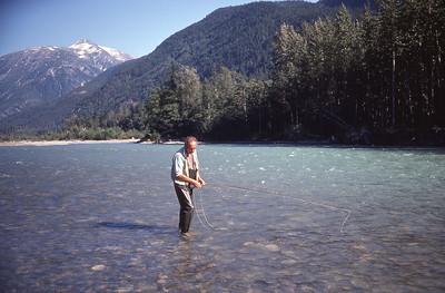 Dean River - 1977