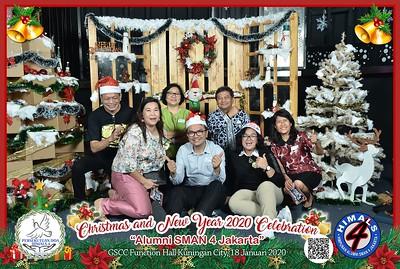 Alumni SMAN 4 Jakarta Natal Photobooth Gallery