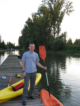 Kayaking on the Little Rhine