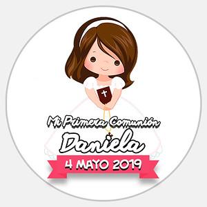 Comunión Daniela