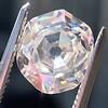 2.04ct Octagonal Flat Cut Diamond GIA K SI1 7