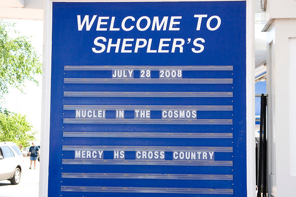 Mercy Cross Country 2008