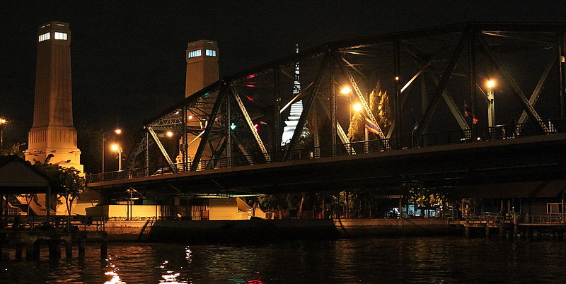 Saphan Put (Memorial Bridge), which was opened in 1932 to commemorate 150 years of the current Chakri Dynasty