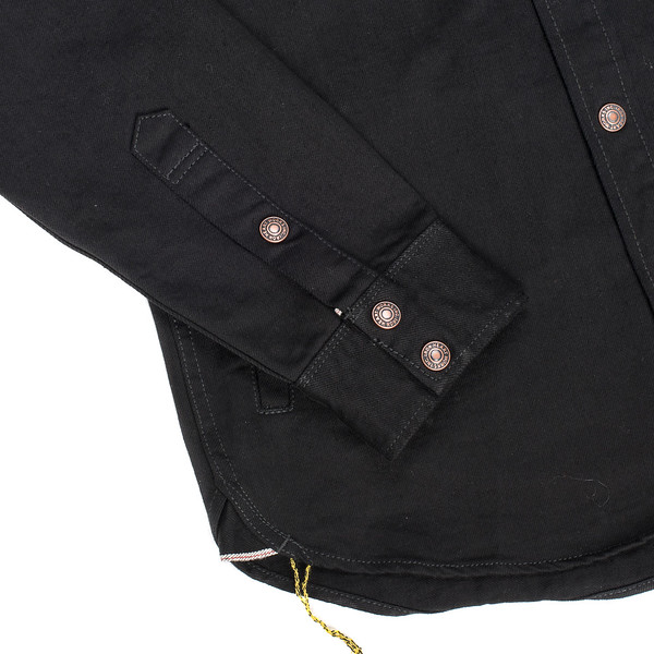 IHSH-166 - Superblack 12oz Selvedge Denim CPO Style Western Shirt-6223.jpg