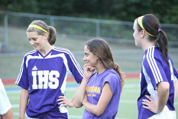 2009-09-08 IHS Girls Soccer vs Liberty