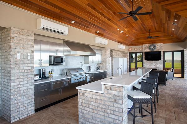 Brown Jordan Stainless Kitchen