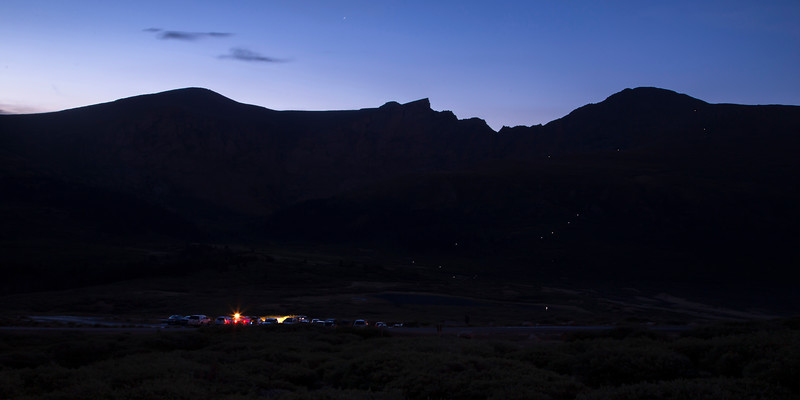 Mount Bierstadt First Lights