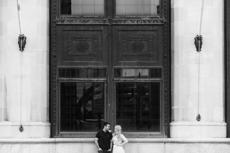 Urban Downtown Rochester New York Engagement Session Shoot Photos Pictures 002.jpg
