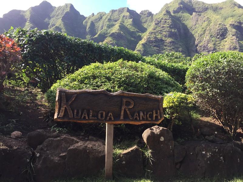 Kualoa Ranch - so beautiful