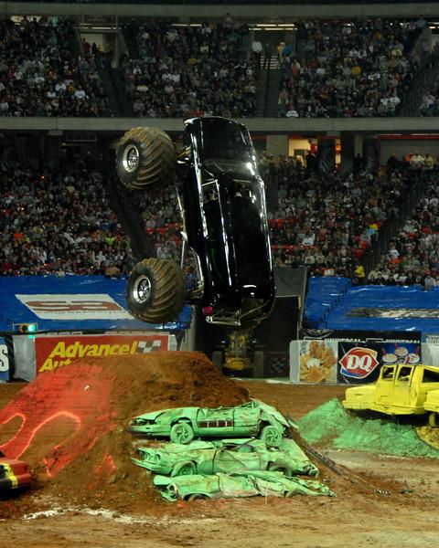 Escalator, Monster Jam 2009, Atlanta, Georgia Dome