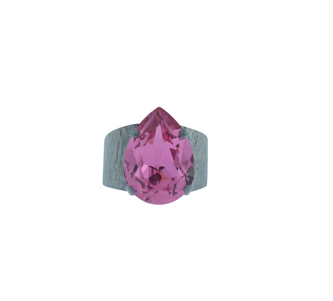 ClassicDropRings_Fushia-BlackRhodium.jpg