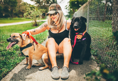 Kayla + Doggies!