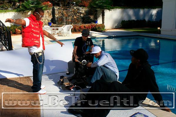 "Juelz Santana feat. Lil' Wayne ""Home Run""Video Shoot"