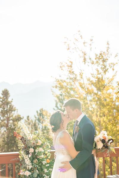 Mo & David Wedding - Breckenridge CO