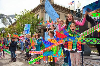Kindergarten Alligator Parade