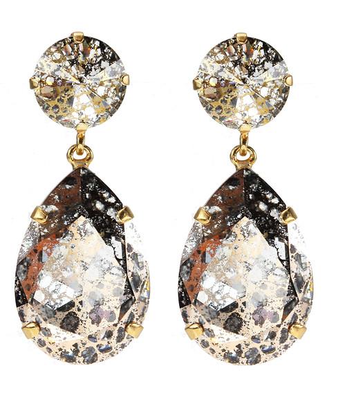 Perfect Drop Earrings / Patina Rose