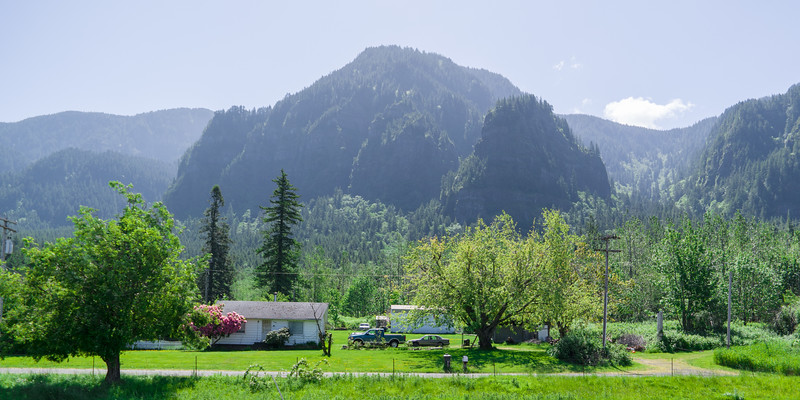 Oregon Columbia Gorge Home