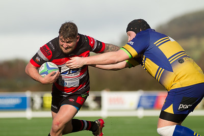 Cheltenham Rugby V Clevedon Rugby - 29th February 2020