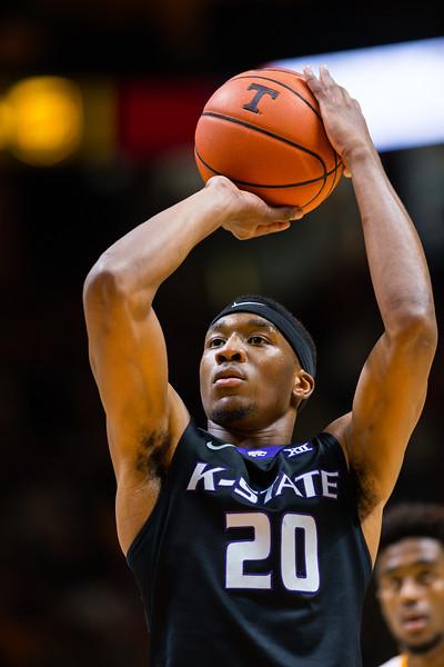 NCAA Basketball 2017: Kansas State vs Tennessee JAN 28