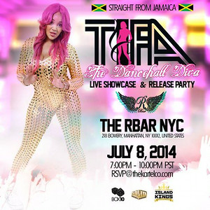 Tifa The Dancehall Diva-Live Showcase & Release Party (7.9.14)