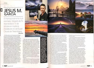 Revista AQUÍ entrevista a Jesús M. García Flores