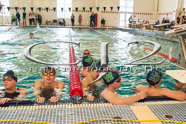 12-6-2014 Woodgrove vs. Park View Swim Meet