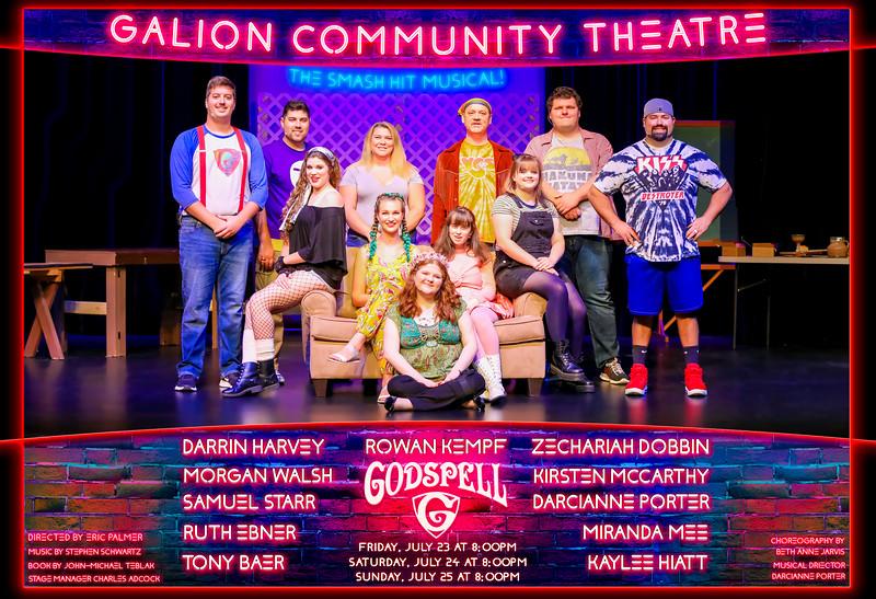 Galion Community Theatre - Godspell  The Musical