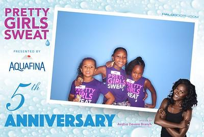 Pretty Girls Sweat 5 Year Anniversary