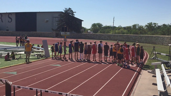 2015 Track at Hays Middle School