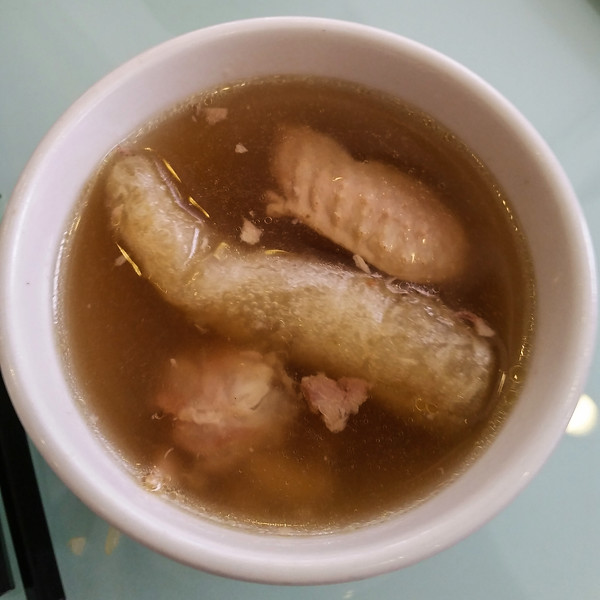 and fish stomach soup -  yummy